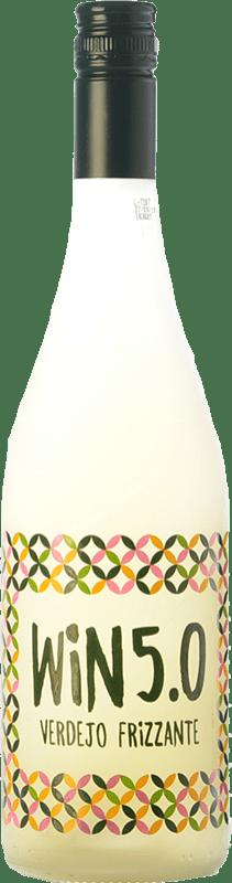 8,95 € Envío gratis | Espumoso blanco Matarromera Win 5.0 Frizzante España Verdejo Botella 75 cl