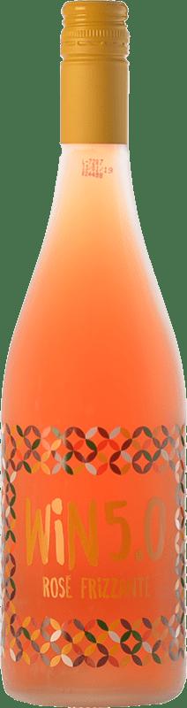 6,95 € 免费送货 | 玫瑰气泡酒 Matarromera Win 5.0 Frizzante 西班牙 Tempranillo 瓶子 75 cl