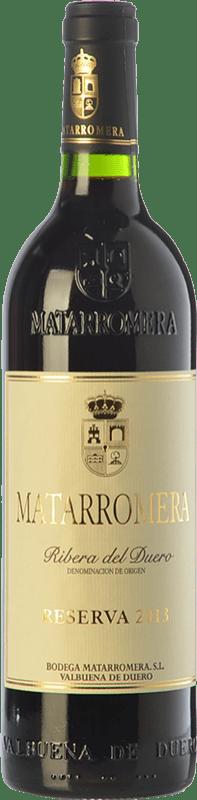 93,95 € Envío gratis | Vino tinto Matarromera Reserva D.O. Ribera del Duero Castilla y León España Tempranillo Botella Mágnum 1,5 L