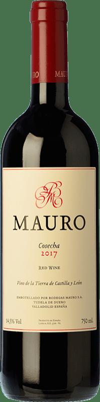 37,95 € | 红酒 Mauro Crianza I.G.P. Vino de la Tierra de Castilla y León 卡斯蒂利亚莱昂 西班牙 Tempranillo, Syrah 瓶子 75 cl