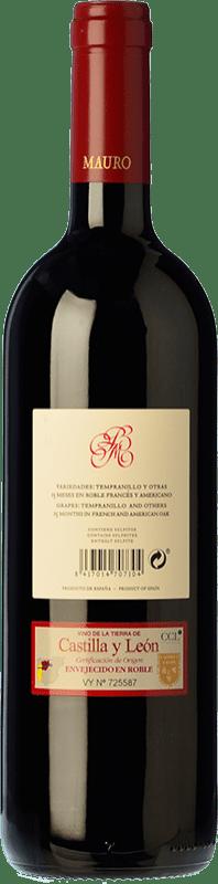 29,95 € Free Shipping   Red wine Mauro Crianza I.G.P. Vino de la Tierra de Castilla y León Castilla y León Spain Tempranillo, Syrah Bottle 75 cl