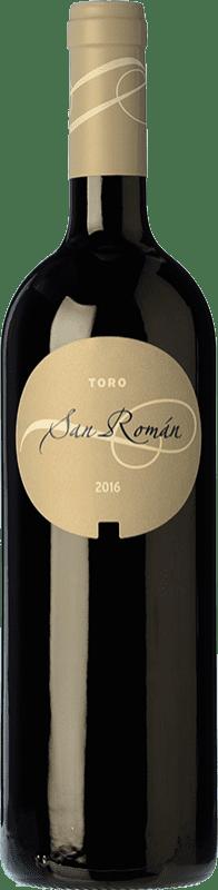 29,95 € 免费送货 | 红酒 Maurodos San Román Crianza D.O. Toro 卡斯蒂利亚莱昂 西班牙 Tinta de Toro 瓶子 75 cl