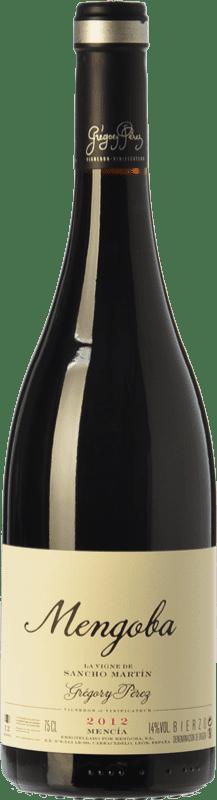 33,95 € Envío gratis | Vino tinto Mengoba La Vigne de Sancho Martín Crianza D.O. Bierzo Castilla y León España Mencía, Garnacha Tintorera, Godello Botella 75 cl