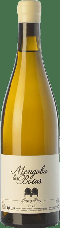 37,95 € Envío gratis | Vino blanco Mengoba Las Botas Crianza España Godello Botella 75 cl