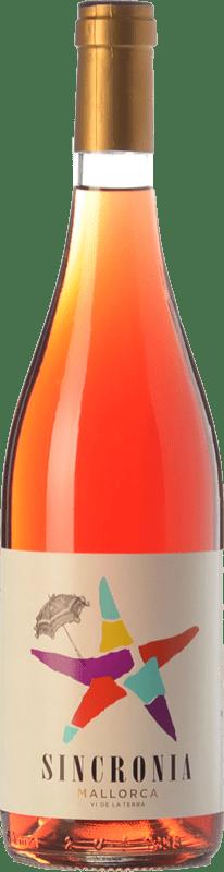 9,95 € | Rosé wine Mesquida Mora Sincronia Rosat I.G.P. Vi de la Terra de Mallorca Balearic Islands Spain Merlot, Cabernet Sauvignon, Callet Bottle 75 cl