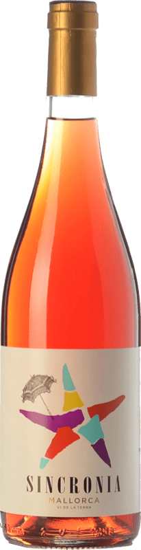 9,95 € Envío gratis   Vino rosado Mesquida Mora Sincronia Rosat I.G.P. Vi de la Terra de Mallorca Islas Baleares España Merlot, Cabernet Sauvignon, Callet Botella 75 cl