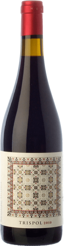 23,95 € | Red wine Mesquida Mora Trispol Crianza D.O. Pla i Llevant Balearic Islands Spain Syrah, Cabernet Franc, Callet Bottle 75 cl
