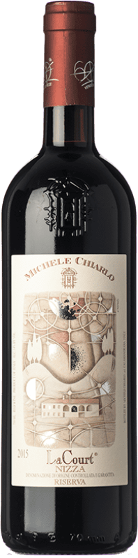35,95 € Free Shipping | Red wine Michele Chiarlo Superiore La Court D.O.C. Barbera d'Asti Piemonte Italy Barbera Bottle 75 cl