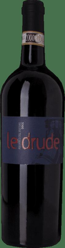 24,95 € | Red wine Michele Laluce Le Drude D.O.C. Aglianico del Vulture Basilicata Italy Aglianico Bottle 75 cl