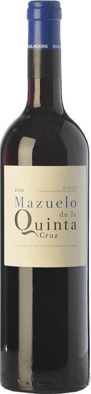 21,95 € Free Shipping | Red wine Miguel Merino Quinta Cruz de la Quinta Cruz Joven D.O.Ca. Rioja The Rioja Spain Mazuelo Bottle 75 cl