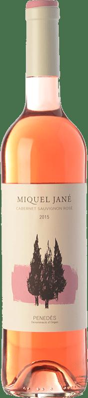 6,95 € Free Shipping | Rosé wine Miquel Jané Baltana Rosat D.O. Penedès Catalonia Spain Grenache, Cabernet Sauvignon Bottle 75 cl