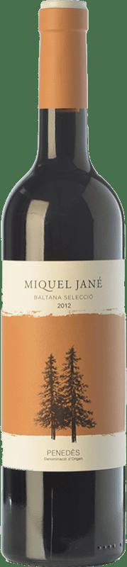 11,95 € Free Shipping | Red wine Miquel Jané Baltana Selecció Crianza D.O. Penedès Catalonia Spain Merlot, Cabernet Sauvignon Bottle 75 cl