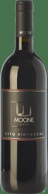 29,95 € Free Shipping | Red wine Mocine Otto Rintocchi I.G.T. Toscana Tuscany Italy Sangiovese, Colorino, Foglia Tonda, Barsaglina Bottle 75 cl