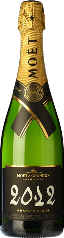 69,95 € | White sparkling Moët & Chandon Grand Vintage Reserva 2009 A.O.C. Champagne Champagne France Pinot Black, Chardonnay, Pinot Meunier Bottle 75 cl