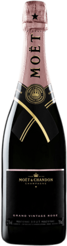 76,95 € | Rosé sparkling Moët & Chandon Grand Vintage Rosé 2009 A.O.C. Champagne Champagne France Pinot Black, Chardonnay, Pinot Meunier Bottle 75 cl