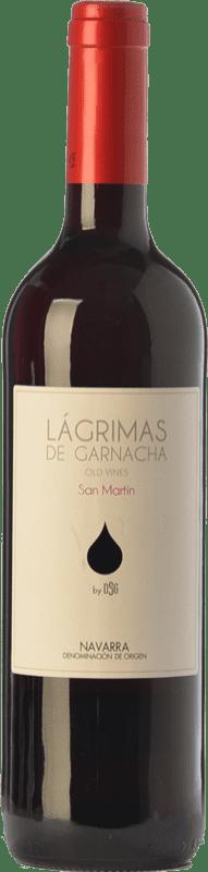5,95 € Envío gratis | Vino tinto Mondo Lirondo Lágrimas de Garnacha Joven D.O. Navarra Navarra España Garnacha Botella 75 cl