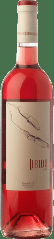 5,95 € Envío gratis | Vino rosado Mondo Lirondo Libido D.O. Navarra Navarra España Garnacha Botella 75 cl
