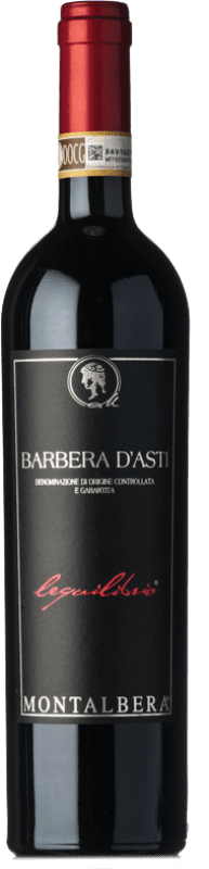 14,95 € | Red wine Montalbera Lequilibrio D.O.C. Barbera d'Asti Piemonte Italy Barbera Bottle 75 cl