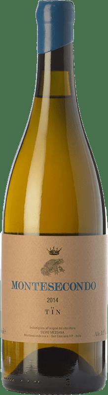 22,95 € | White wine Montesecondo Tin Bianco I.G.T. Toscana Tuscany Italy Trebbiano Bottle 75 cl