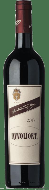 41,95 € Free Shipping | Red wine Morisfarms Avvoltore D.O.C. Maremma Toscana Tuscany Italy Syrah, Cabernet Sauvignon, Sangiovese Bottle 75 cl
