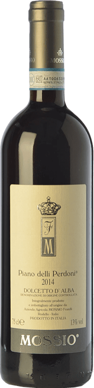 16,95 € | Red wine Mossio Piano delli Perdoni D.O.C.G. Dolcetto d'Alba Piemonte Italy Dolcetto Bottle 75 cl