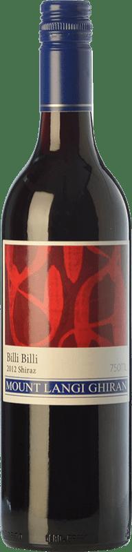 15,95 € 免费送货   红酒 Mount Langi Ghiran Billi Billi Shiraz Crianza I.G. Grampians 格兰屏 澳大利亚 Syrah 瓶子 75 cl