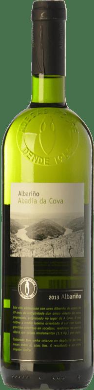 15,95 € Free Shipping | White wine Moure Abadía da Cova D.O. Ribeira Sacra Galicia Spain Albariño Bottle 75 cl