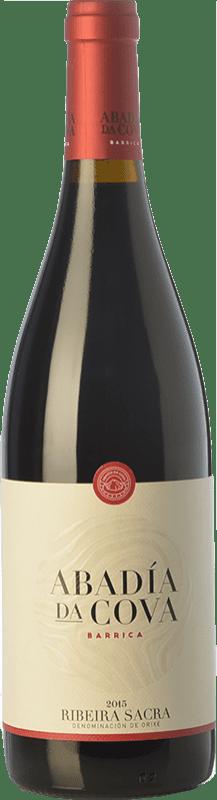 15,95 € Free Shipping | Red wine Moure Abadía da Cova Barrica Joven D.O. Ribeira Sacra Galicia Spain Mencía Bottle 75 cl