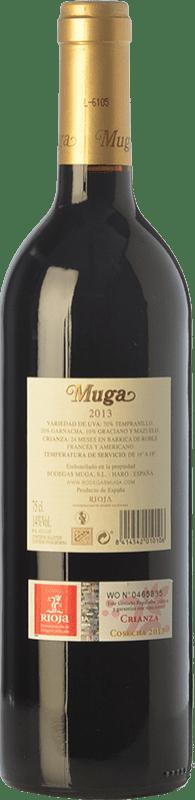 16,95 € Free Shipping   Red wine Muga Crianza D.O.Ca. Rioja The Rioja Spain Tempranillo, Grenache, Graciano, Mazuelo Bottle 75 cl