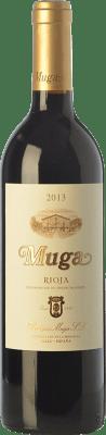 12,95 € Envío gratis | Vino tinto Muga Crianza D.O.Ca. Rioja La Rioja España Tempranillo, Garnacha, Graciano, Mazuelo Media Botella 37 cl