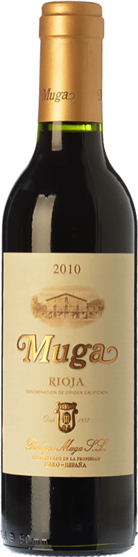 16,95 € Envoi gratuit | Vin rouge Muga Crianza D.O.Ca. Rioja La Rioja Espagne Tempranillo, Grenache, Graciano, Mazuelo Bouteille Spéciale 5 L