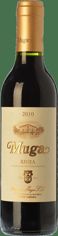 16,95 € Envío gratis | Vino tinto Muga Crianza D.O.Ca. Rioja La Rioja España Tempranillo, Garnacha, Graciano, Mazuelo Botella Especial 5 L