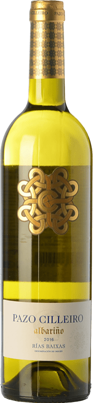 9,95 € 免费送货   白酒 Muriel Pazo Cilleiro D.O. Rías Baixas 加利西亚 西班牙 Albariño 瓶子 75 cl