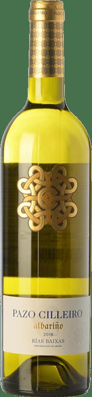 9,95 € | White wine Muriel Pazo Cilleiro D.O. Rías Baixas Galicia Spain Albariño Bottle 75 cl
