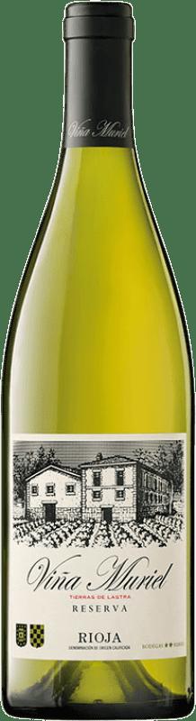 12,95 € 免费送货   白酒 Muriel Viña Muriel Reserva D.O.Ca. Rioja 拉里奥哈 西班牙 Viura 瓶子 75 cl