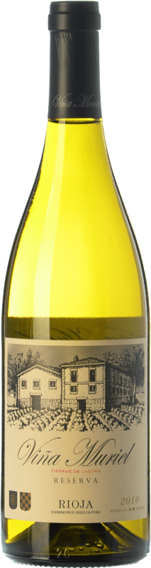 12,95 € Free Shipping | White wine Muriel Viña Muriel Reserva D.O.Ca. Rioja The Rioja Spain Viura Bottle 75 cl