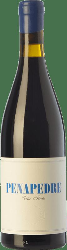 44,95 € Free Shipping | Red wine Nanclares Alberto Penapedre Joven D.O. Ribeira Sacra Galicia Spain Mencía, Grenache Tintorera, Godello, Palomino Fino Bottle 75 cl