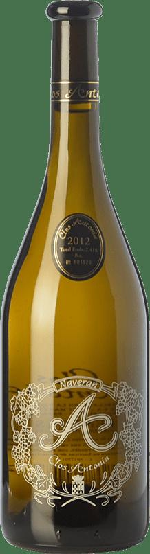 16,95 € Free Shipping | White wine Naveran Clos Antonia Crianza D.O. Penedès Catalonia Spain Viognier, Xarel·lo, Chardonnay Bottle 75 cl