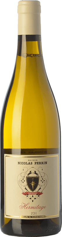 39,95 € | White wine Nicolas Perrin Blanc Crianza A.O.C. Hermitage Rhône France Roussanne, Marsanne Bottle 75 cl
