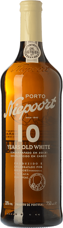 38,95 € | Sweet wine Niepoort 10 Years Old White I.G. Porto Porto Portugal Códega, Rabigato, Viosinho, Arinto Bottle 75 cl