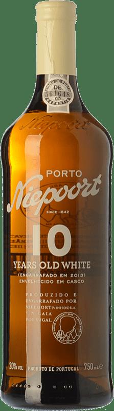 34,95 € Envío gratis | Vino dulce Niepoort 10 Years Old White I.G. Porto Porto Portugal Códega, Rabigato, Viosinho, Arinto Botella 75 cl