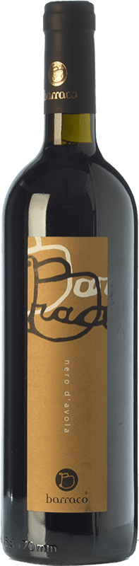 22,95 € Free Shipping | Red wine Nino Barraco I.G.T. Terre Siciliane Sicily Italy Nero d'Avola Bottle 75 cl