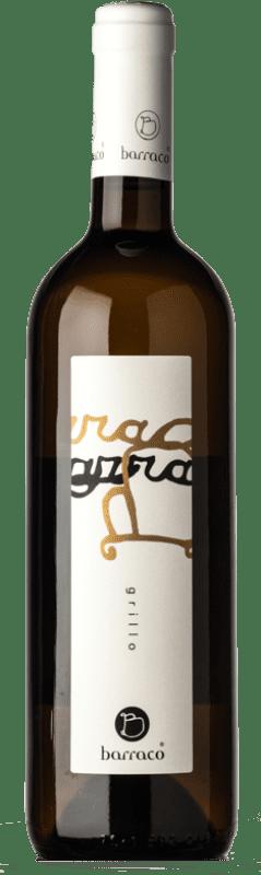 26,95 € Free Shipping | White wine Nino Barraco I.G.T. Terre Siciliane Sicily Italy Grillo Bottle 75 cl