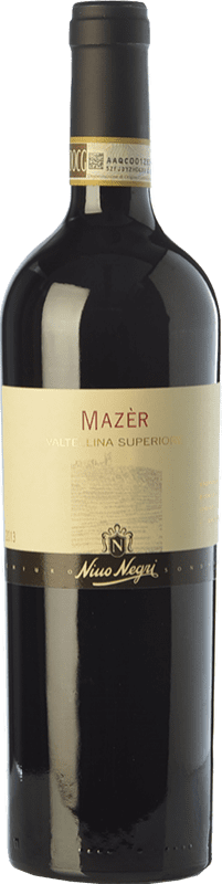 19,95 € Free Shipping | Red wine Nino Negri Mazèr D.O.C.G. Valtellina Superiore Lombardia Italy Nebbiolo Bottle 75 cl