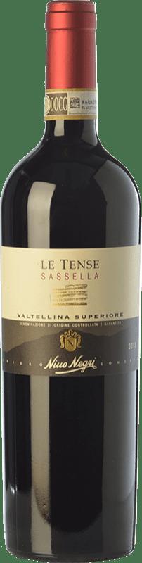 23,95 € Free Shipping | Red wine Nino Negri Sassella Le Tense D.O.C.G. Valtellina Superiore Lombardia Italy Nebbiolo Bottle 75 cl