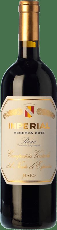 25,95 € Envío gratis | Vino tinto Norte de España - CVNE Cune Imperial Reserva D.O.Ca. Rioja La Rioja España Tempranillo, Graciano, Mazuelo Botella 75 cl