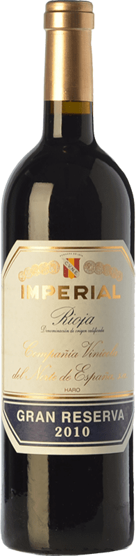 52,95 € | Red wine Norte de España - CVNE Cune Imperial Gran Reserva D.O.Ca. Rioja The Rioja Spain Tempranillo, Graciano, Mazuelo Bottle 75 cl