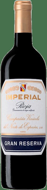 52,95 € Envío gratis | Vino tinto Norte de España - CVNE Cune Imperial Gran Reserva D.O.Ca. Rioja La Rioja España Tempranillo, Graciano, Mazuelo Botella 75 cl