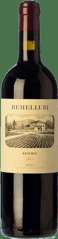 19,95 € Envío gratis | Vino tinto Ntra. Sra de Remelluri Reserva D.O.Ca. Rioja La Rioja España Tempranillo, Garnacha, Graciano, Viura, Malvasía Botella 75 cl