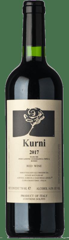129,95 € Free Shipping | Red wine Oasi degli Angeli Kurni I.G.T. Marche Marche Italy Montepulciano Bottle 75 cl